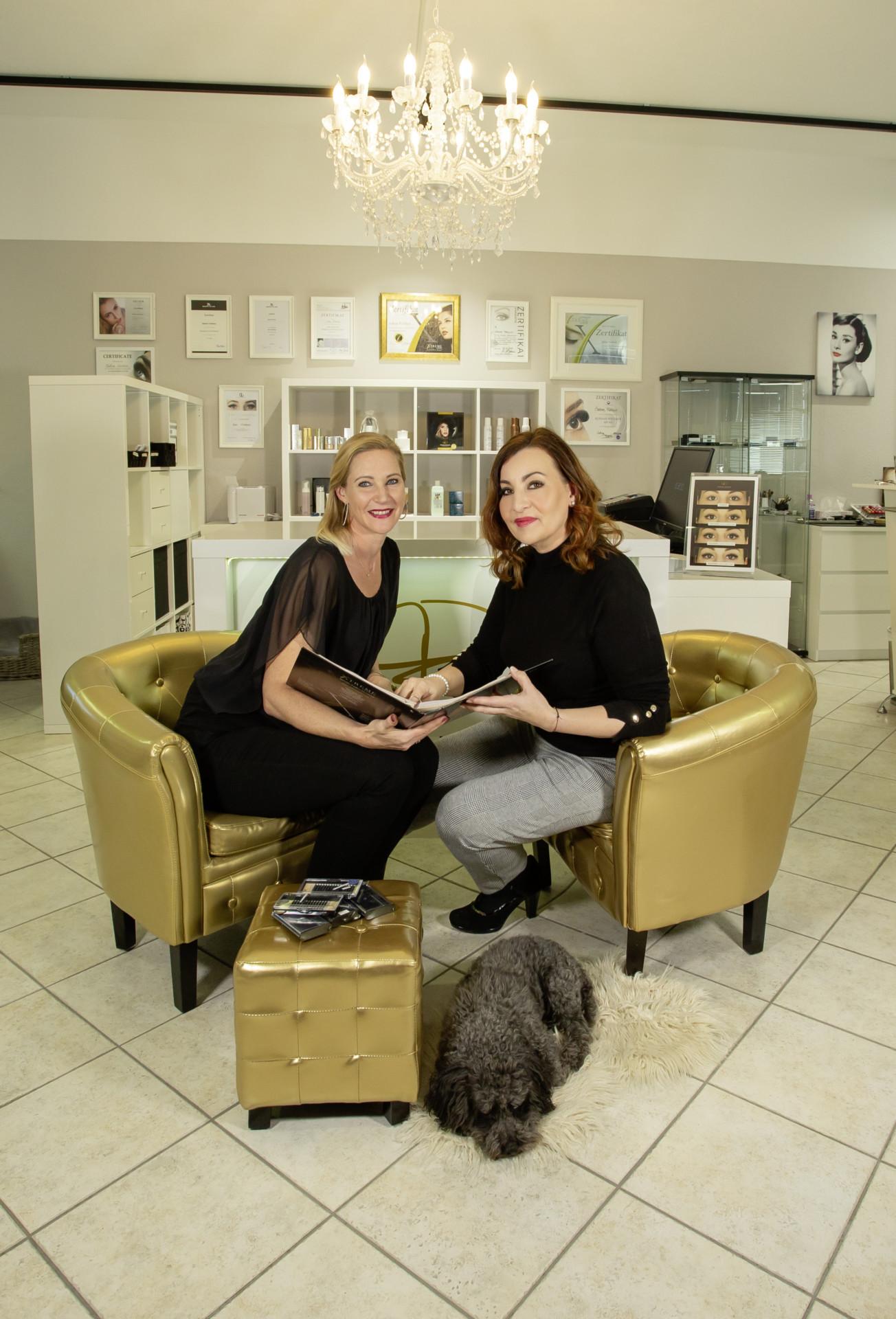 Dagmar Lechner und Sabine Fröhlich, Styling-Lounge Telfs, Lash Expert Studio